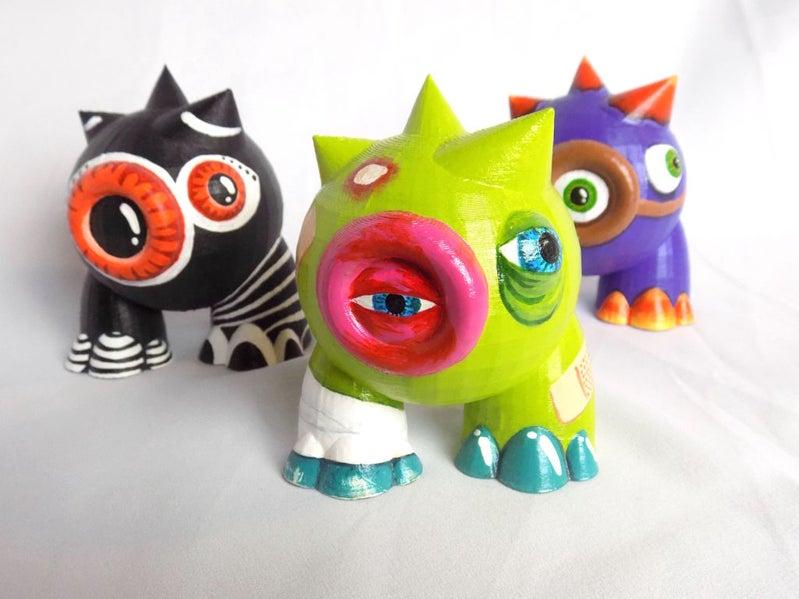 3. designer art toys