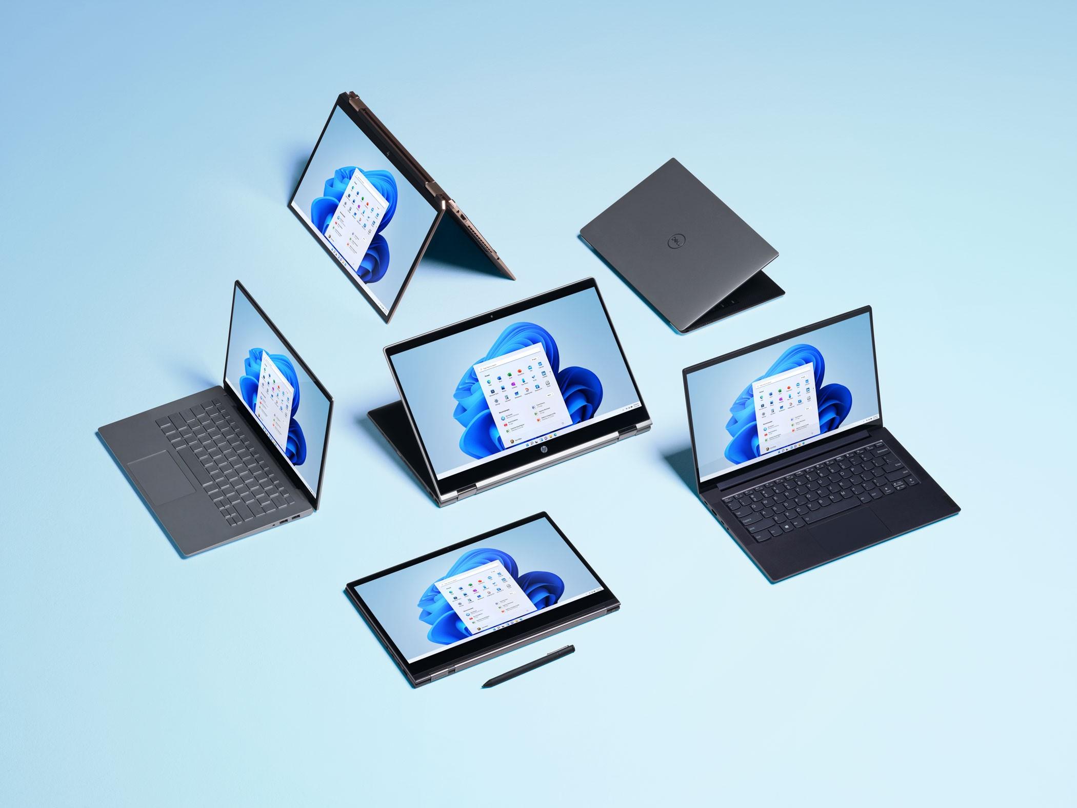 Apparaten met Windows 11