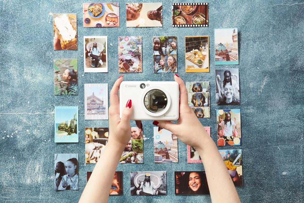 Canon Zoemini S2 parelmoerwit prints