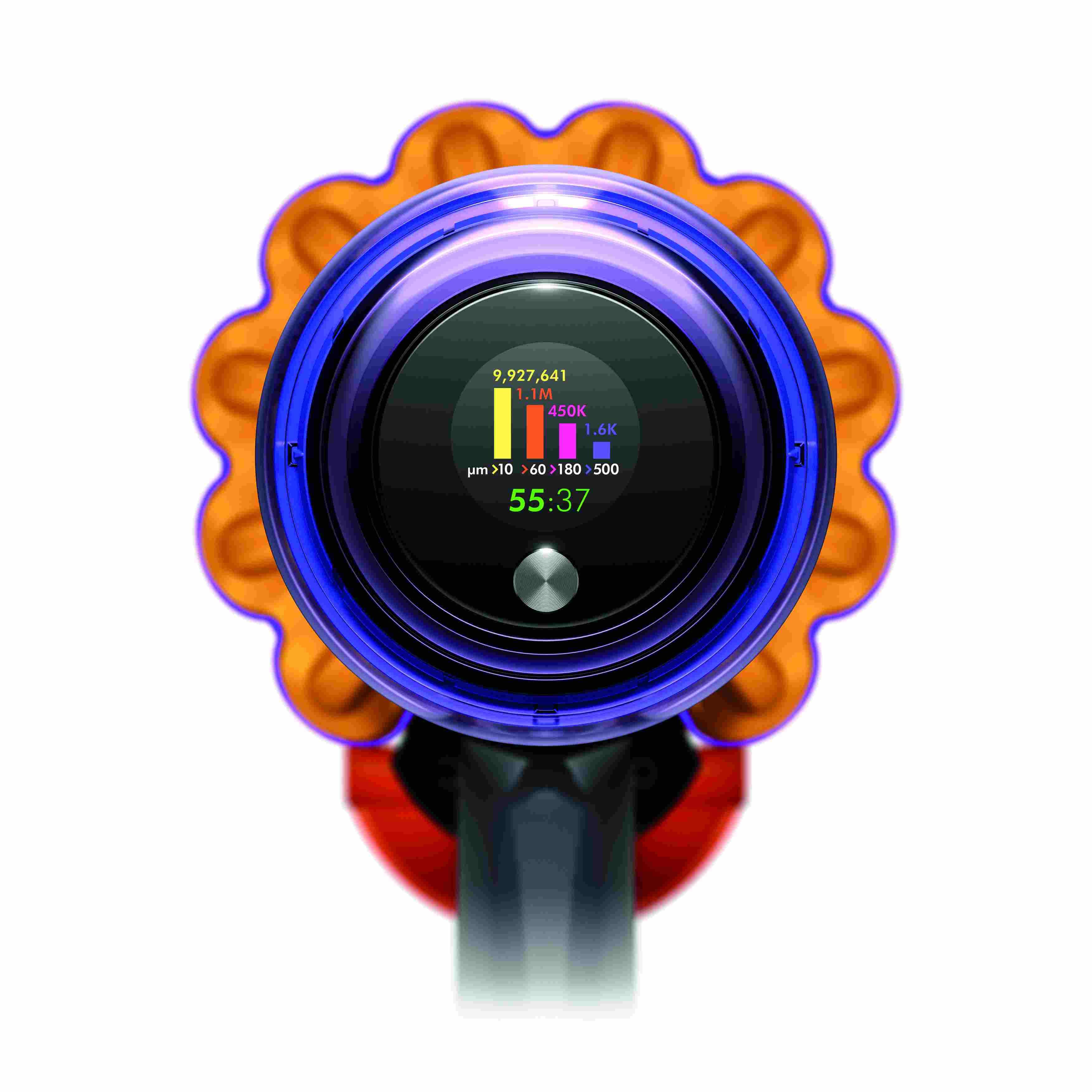 DysonV15lcd scherm