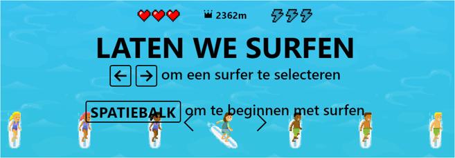 Edge surfen 1