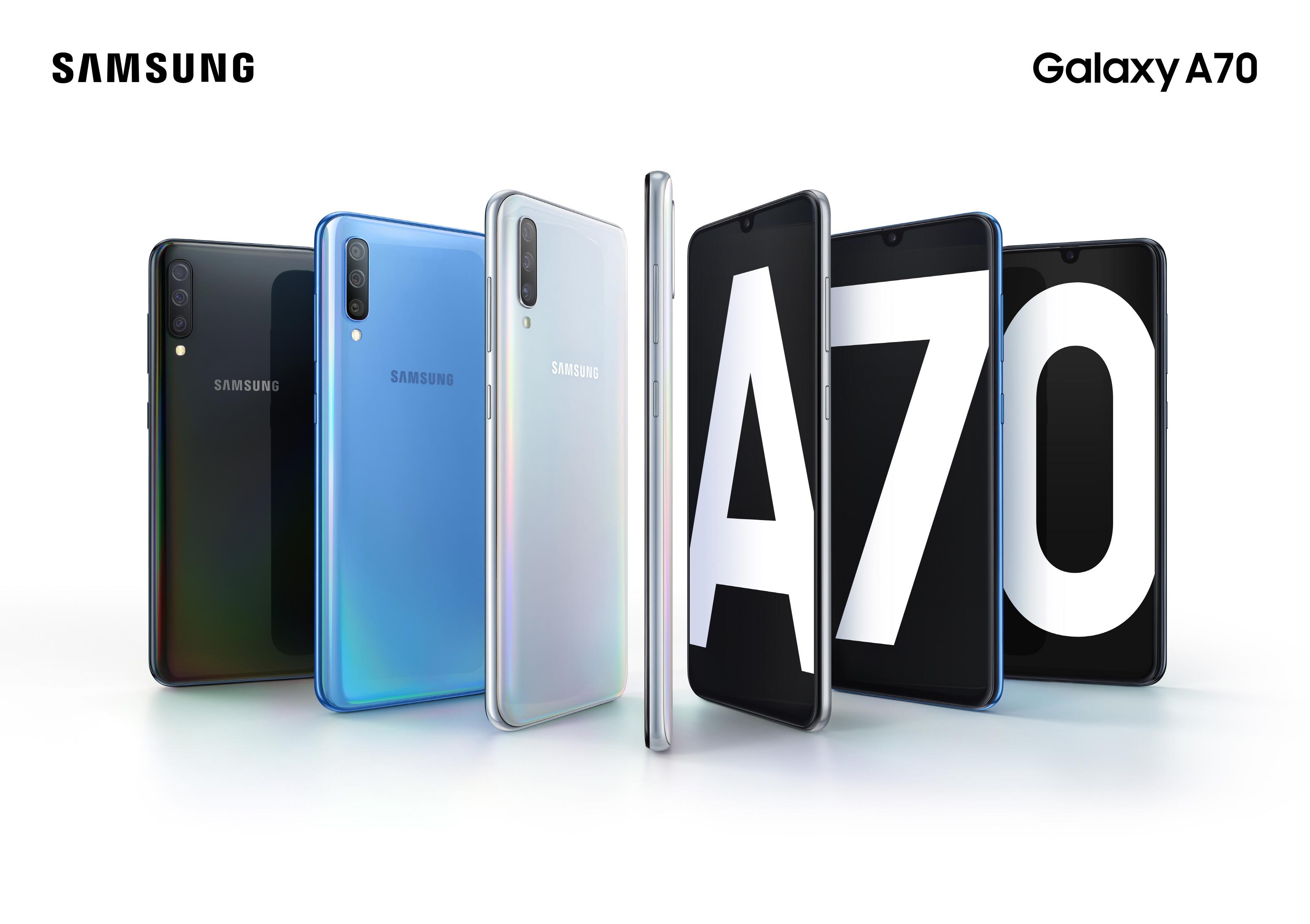 Galaxy A70 Product KV artikel en in artikel