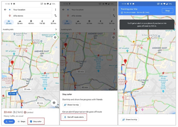 Maps waarschuwt voor malafide taxichauffeurs