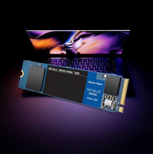 WD Blue SN550 NVMe SSD 2