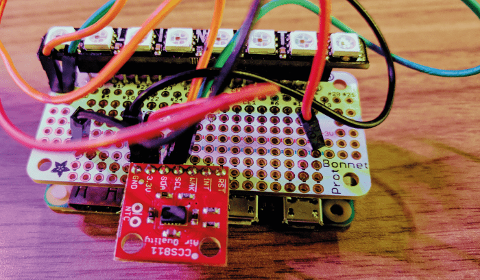 Afbeelding 1 VOC Sensor setup 2