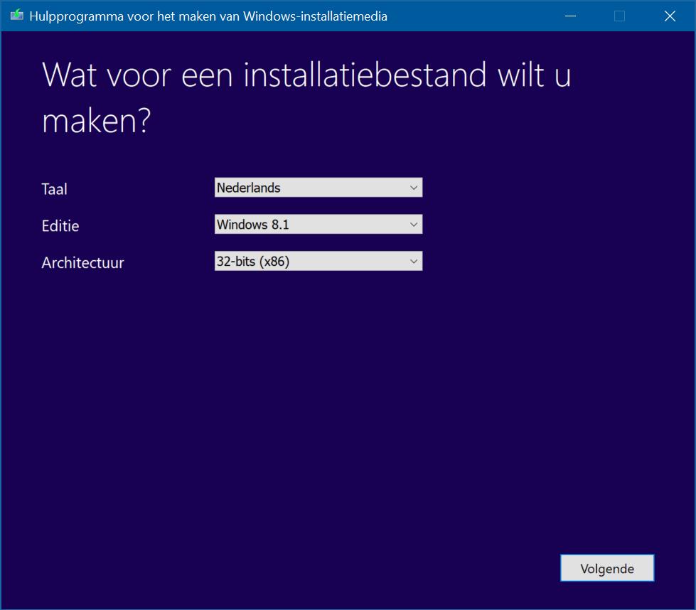 hulpprogramma windows81