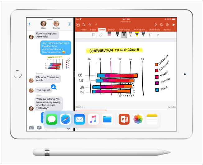 iPad 9 7 inch split screen 32718