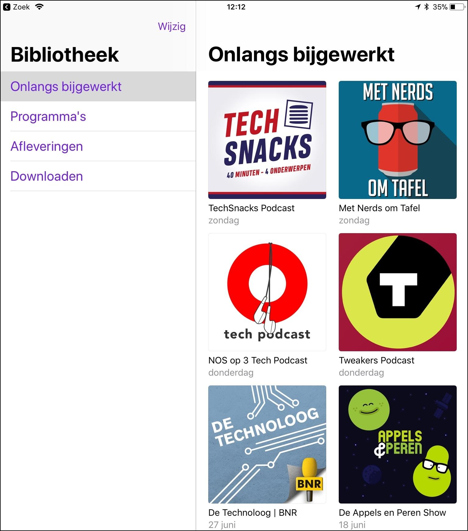 Nederlandse podcasts 2