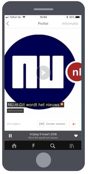 SoundCloud staand cam