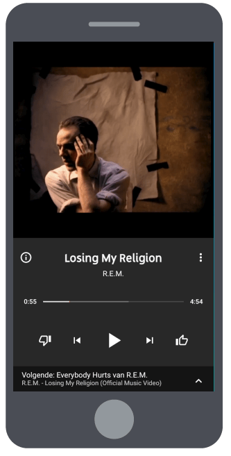 YouTube Music camera