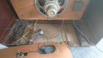 piradio knoppen gemonteerd