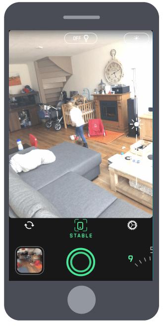Spectre Camera staand camera