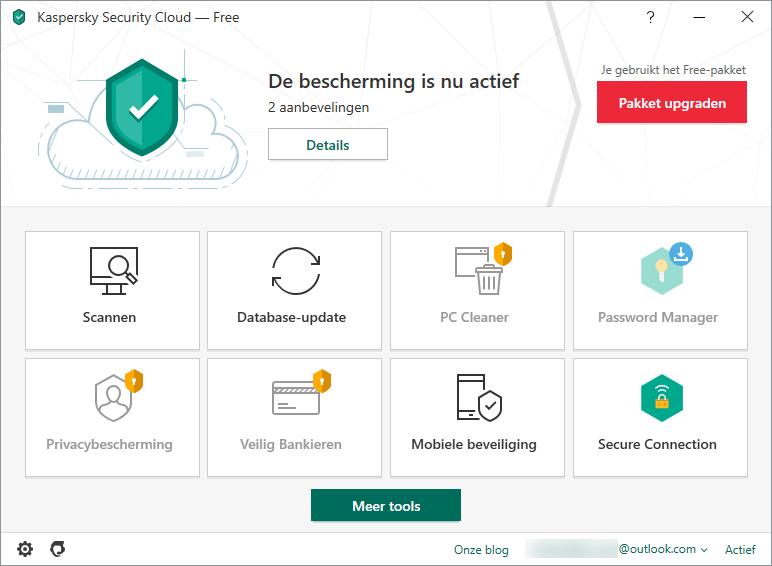4 Kaspersky Security Cloud Free