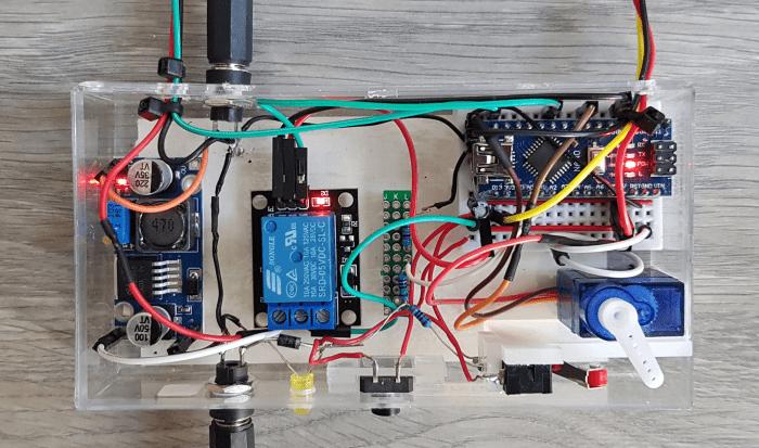 5. Controle unit voor aan uit schakelen van leds en xylofoon 20191029 151604xx 2