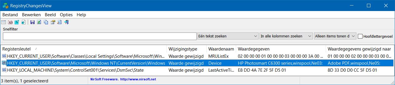 RegistryChangesView 4