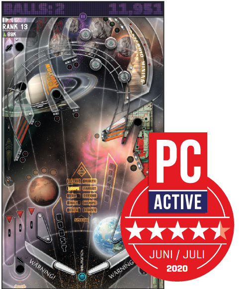 Pinball Deluxe Reloaded ster
