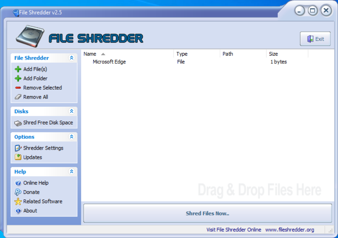 fileshredder
