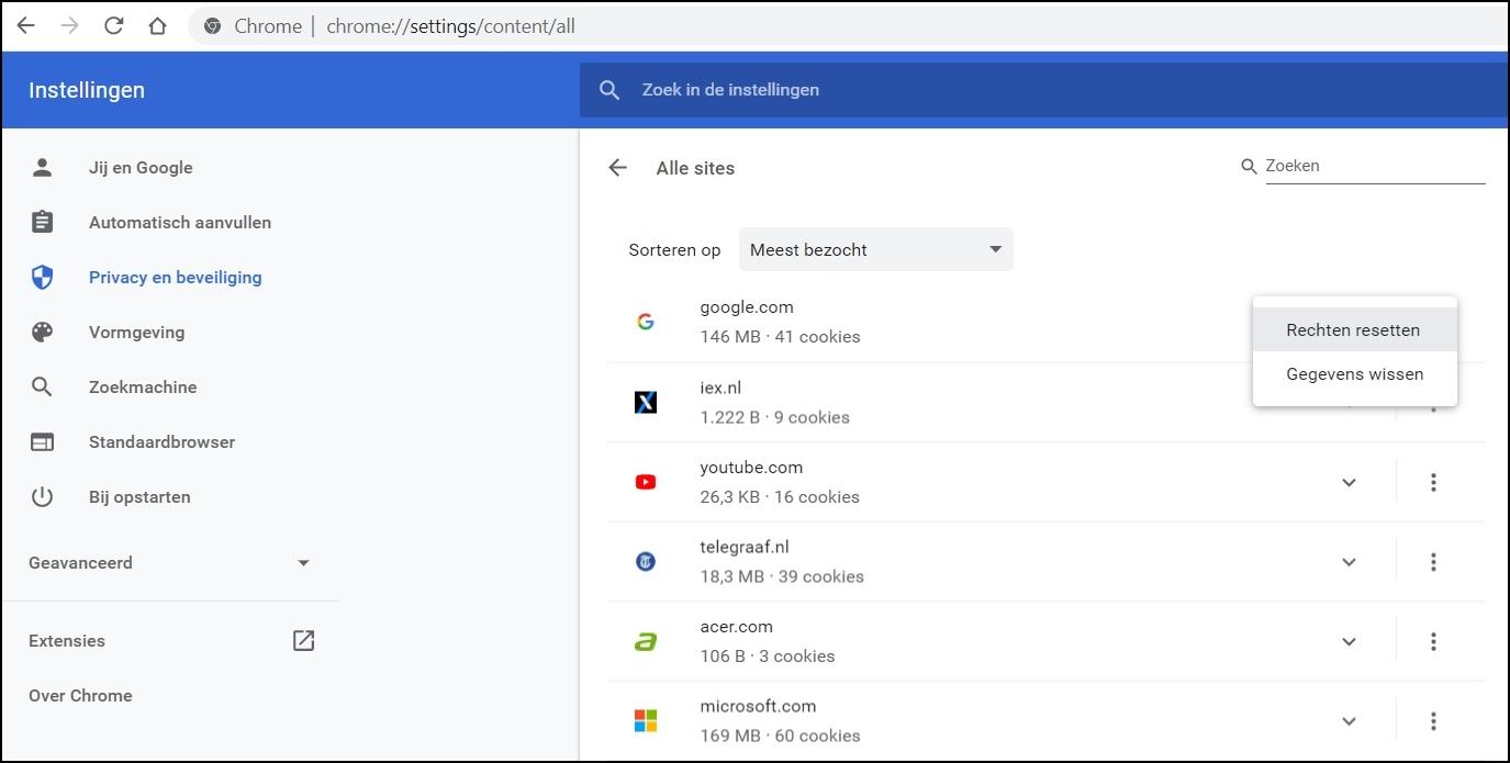 Chrome content all 2