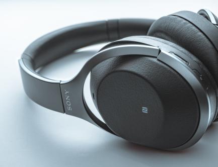 Sony headphones 1 2