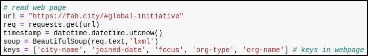 Web scraping code 3 2