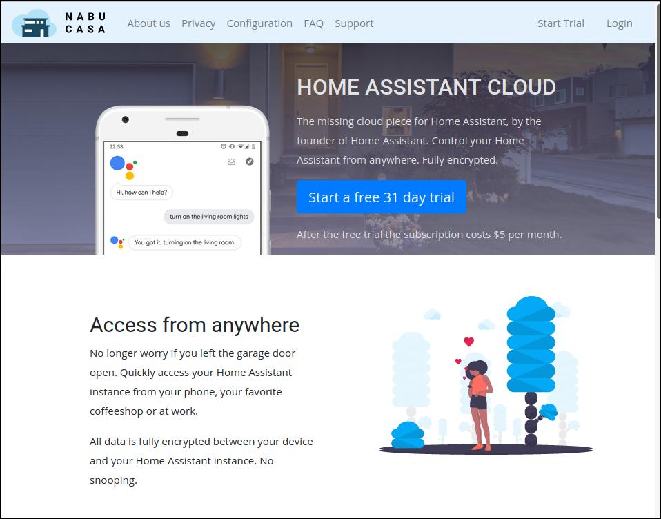 home assistant cloud 2