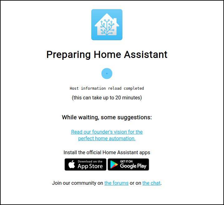 preparing home assistant 2