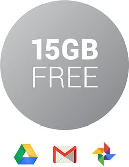 Google Drive 15GB