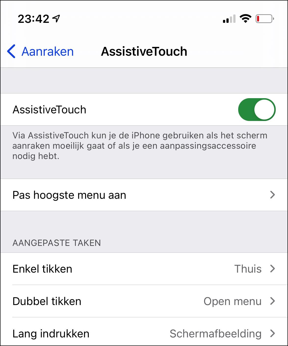 Apple digitale thuisknop 2