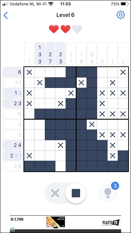 Nonogram.com Japanse puzzel 2