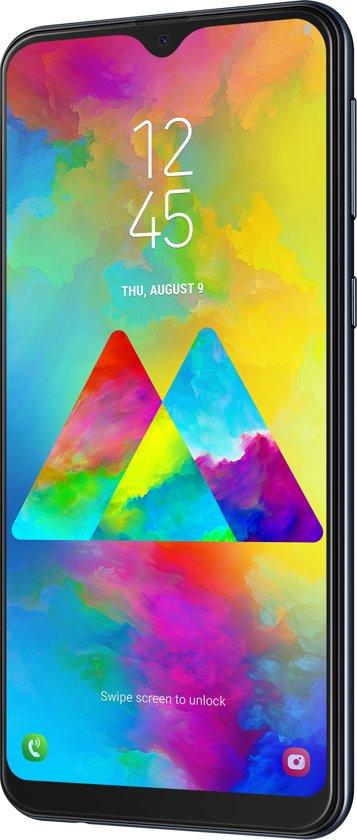 Samsung M20 helemaal beetje links