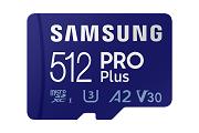 Samsung microSDPRO Plus 512GB voor online30