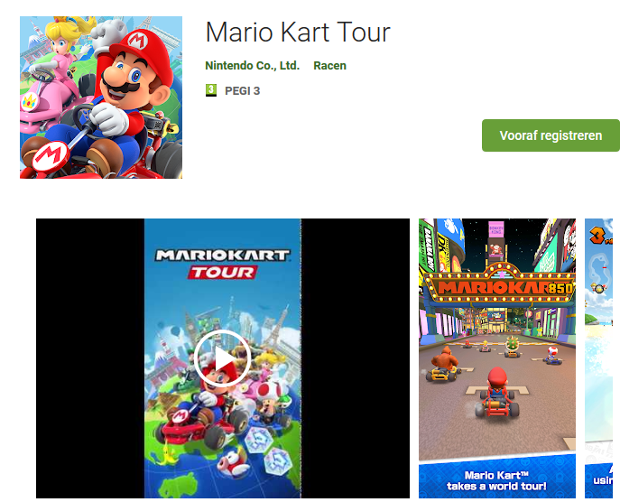 Screenshot 2019 08 27 Mario Kart Tour Apps op Google Play artikel