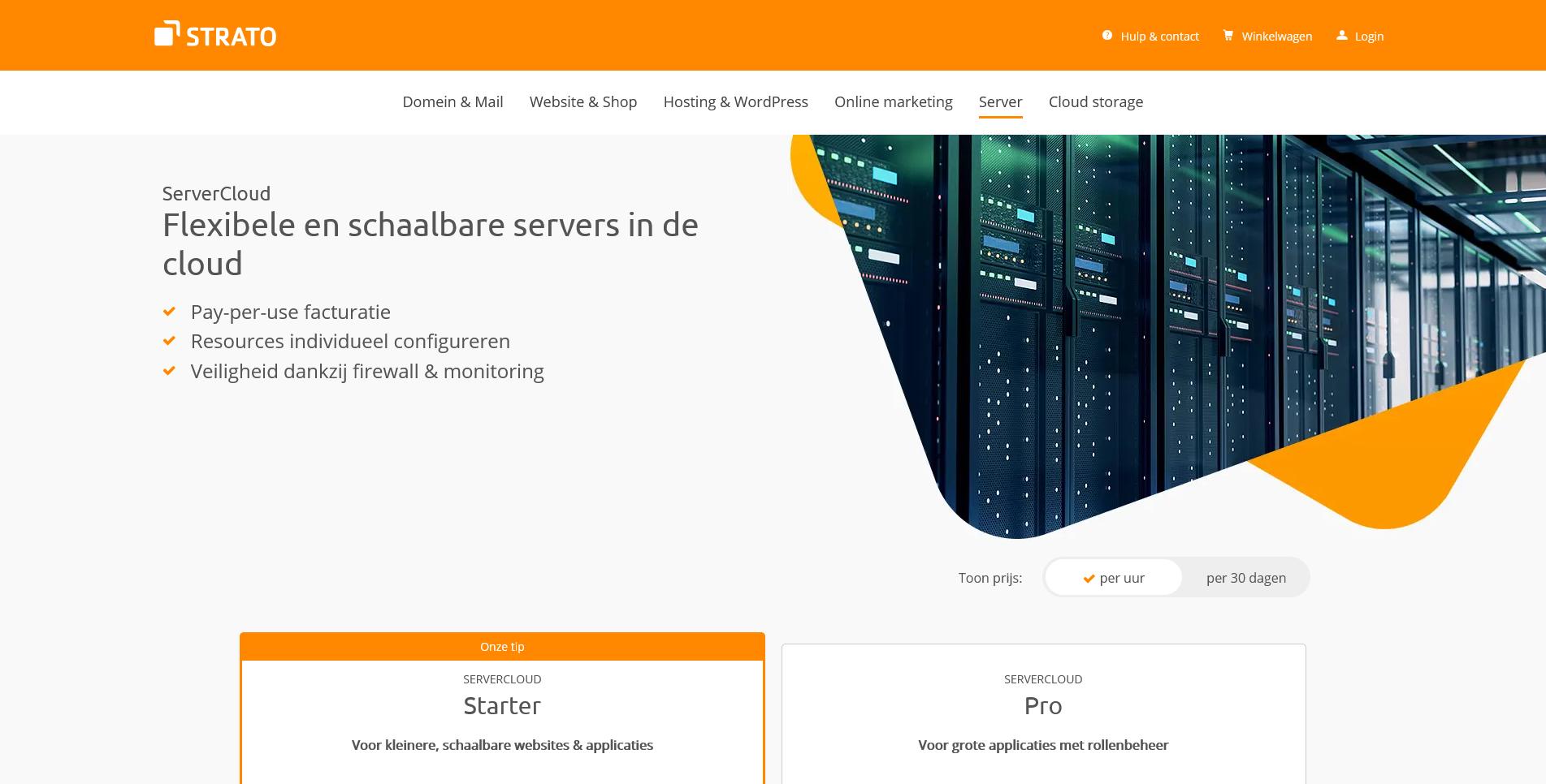 Screenshot 2021 04 26 ServerCloud flexibel schaalbaar en krachtig STRATO
