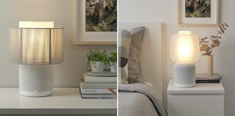 Symfonisk tafellamp wit