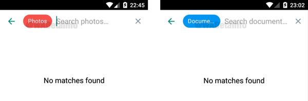 Whatsapp uitgebreider zoeken