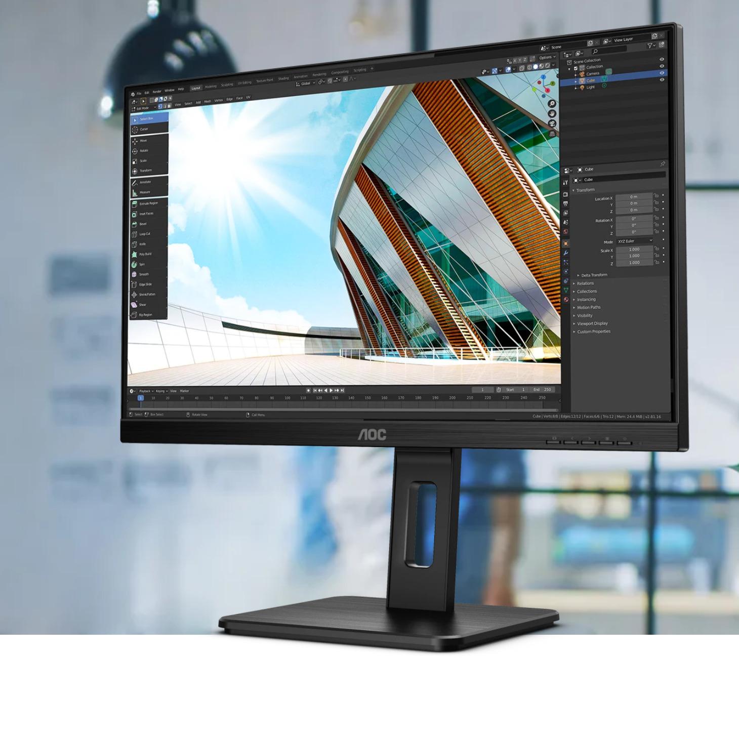 AOC 27P2C 27 inch monitor AOC Monitors