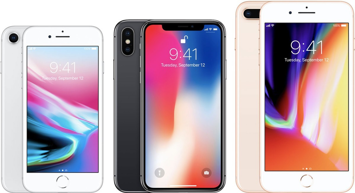 De iPhone X is een spannende verschijning tussen de iPhone 8 en 8 plus