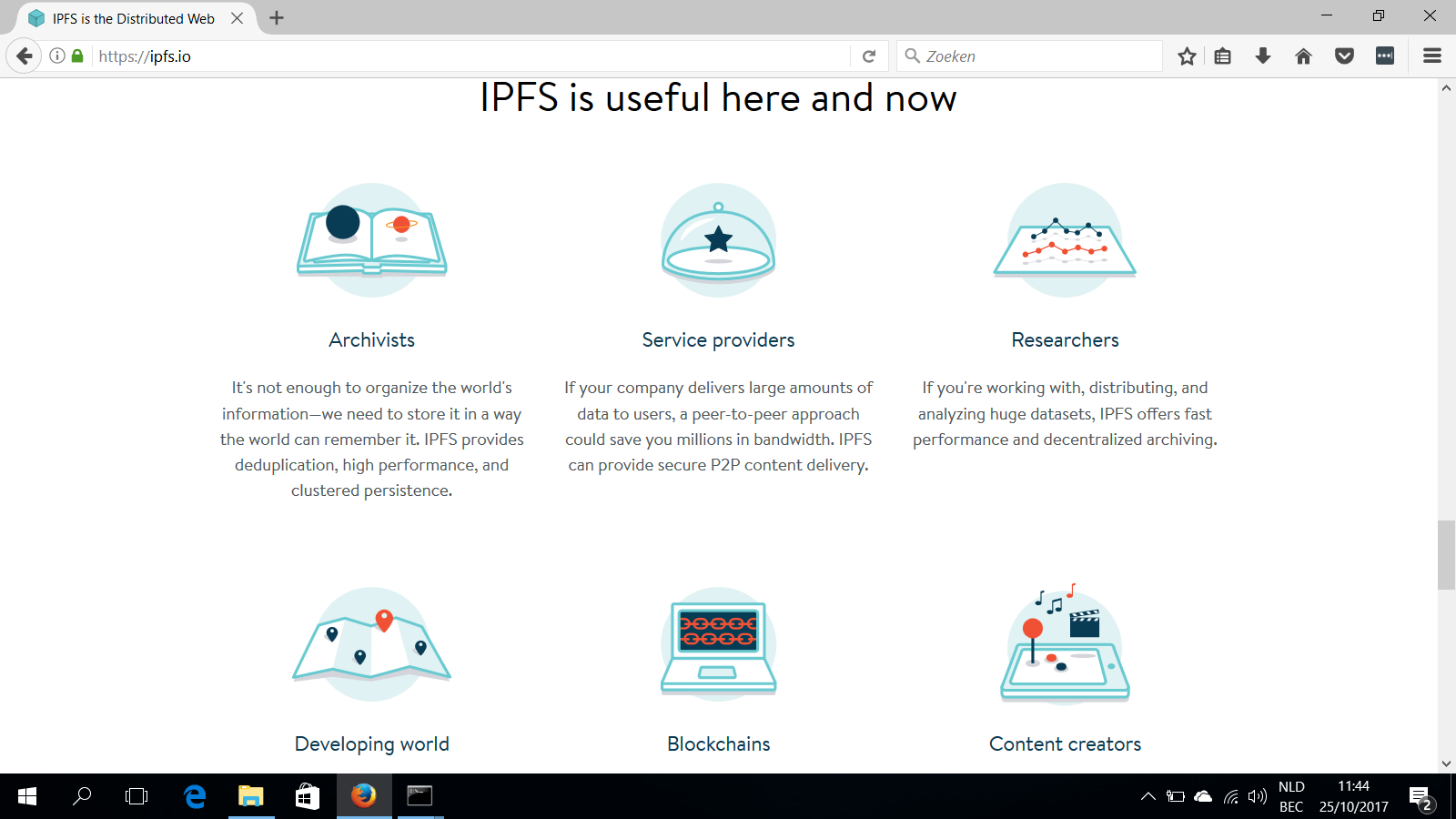 ipfs useful