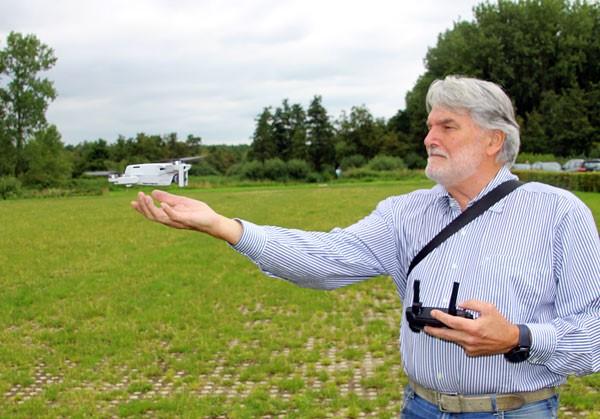 drone en hans