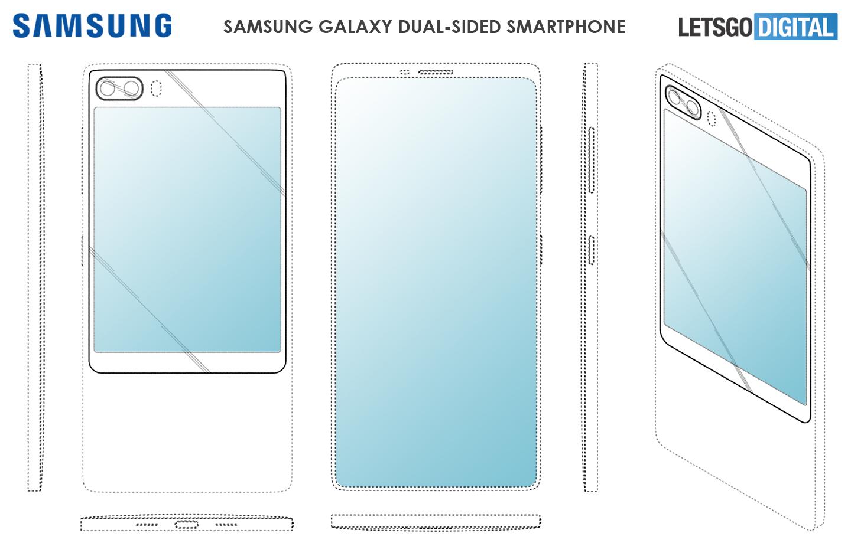galaxy smartphones met extra scherm in artikel