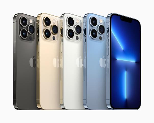 iPhone Max Pro kleuren