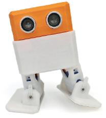 robot 1 oranje